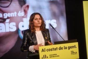 Laura Vilagrà, membre de l'equip negociador d'ERC. FOTO: Esquerra Republicana